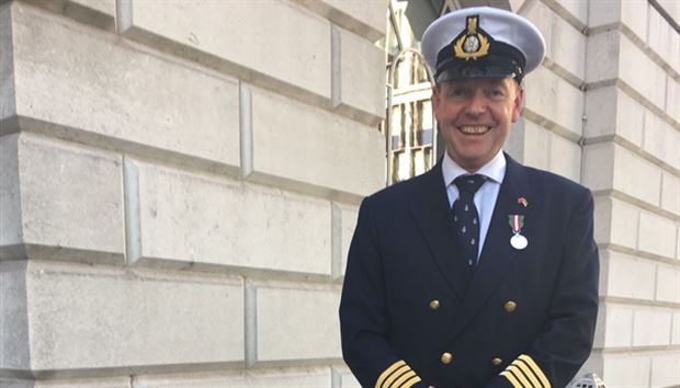 Award of Merchant Navy Medal to PYA President