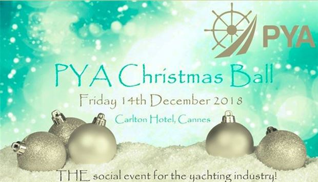 PYA Christmas Ball, Cannes, 14th December 2018