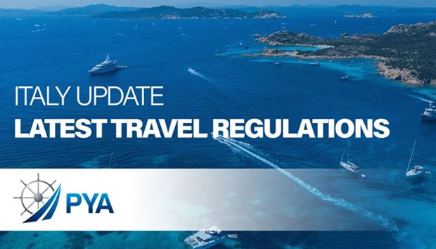 Italy update - Latest travel regulations