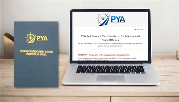 Simplify your sea service verification online