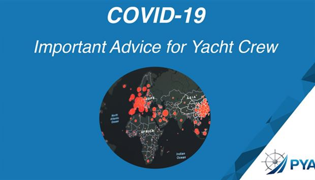 COVID-19 — Important advice for yacht crew