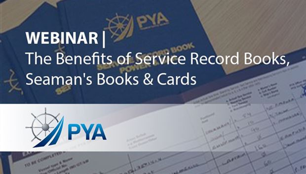Webinar - The Benefits of Service Record Books, Seaman's Books & Cards