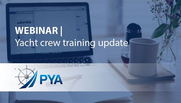 Webinar - Yacht crew training update