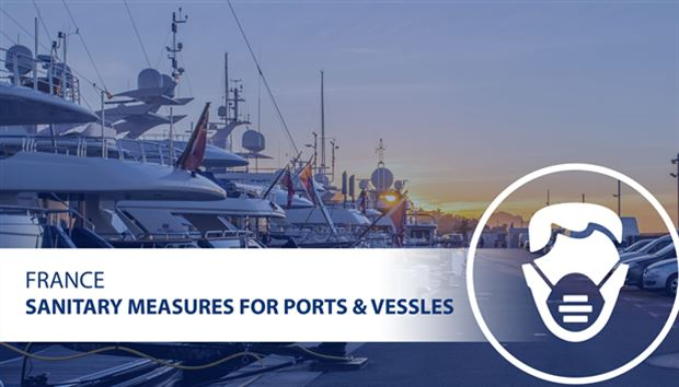 Sanitary measures for ports and vessels in France